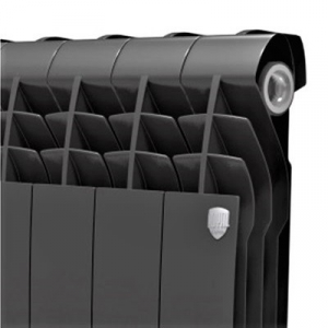Биметаллический радиатор Royal Thermo BiLiner 500/Noir Sable (8 секций)