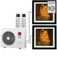 Мульти система на 2 комнаты LG MA09AH1х2/MU2M15