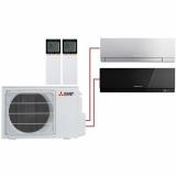 Мульти система на 2 комнаты Mitsubishi Electric MSZ-EF22VE3S+MSZ-EF35VE3B/MXZ-2D53VA