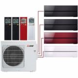Мульти сплит система Mitsubishi Electric MSZ-LN25VGBх2+MSZ-LN25VGR+MSZ-LN35VGV/ MXZ-4E83VA