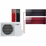 Мульти система на 2 комнаты Mitsubishi Electric MSZ-LN25VGB+MSZ-LN35VGR/MXZ-2D53VA